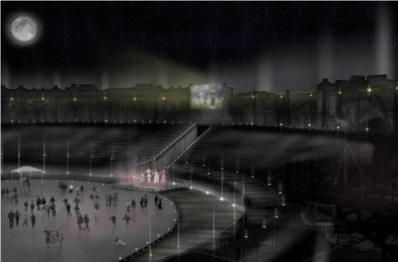 Plan de restauración para la Plaza de Toros de Colonia
