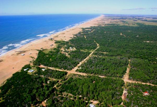 Vista aérea Oceanía del Polonio