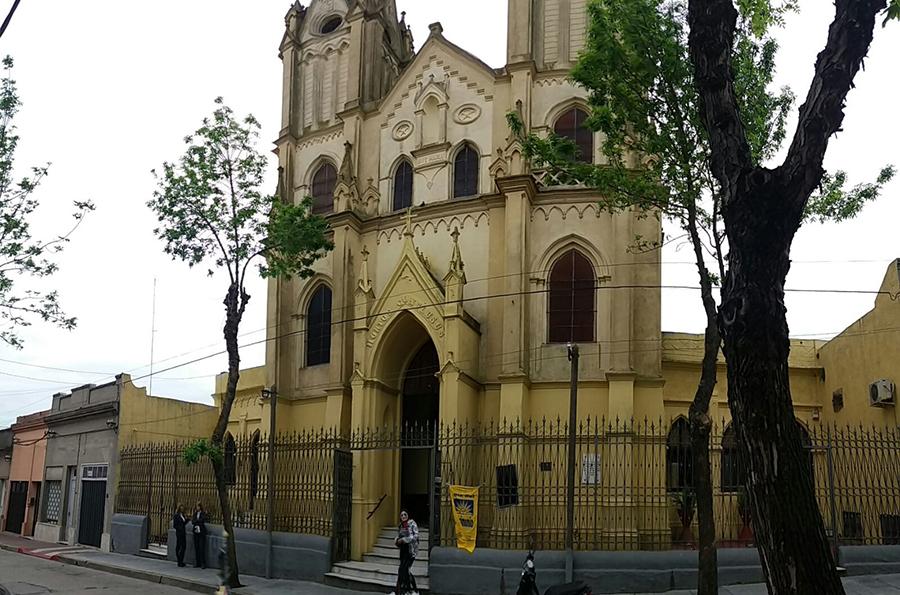 Fachada Capilla Nuestra Señora del Huerto