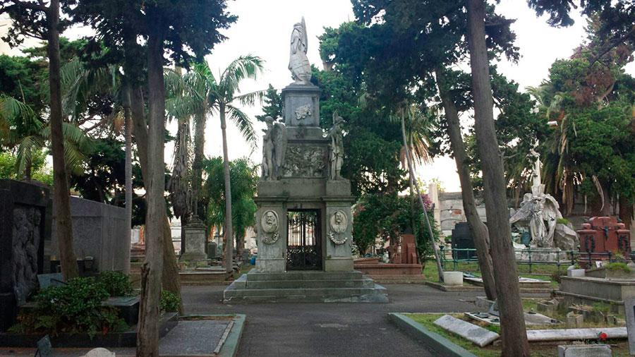 Primer cuerpo del Cementerio Central