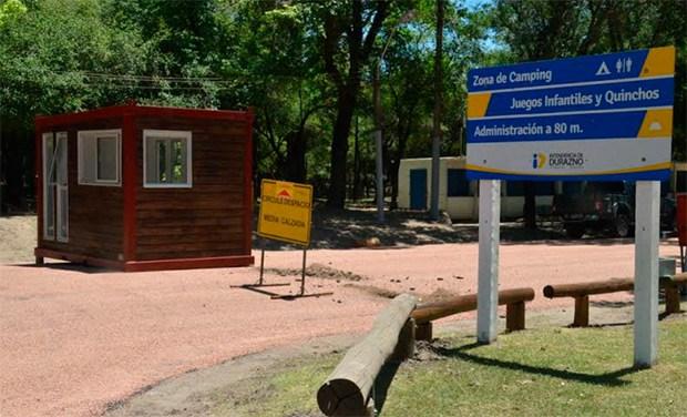 Entrada Camping Treinta y Tres Orientales