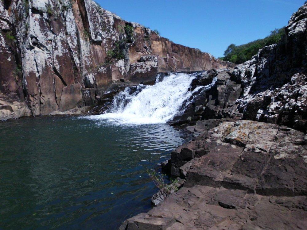 Cascada en Valle del Lunarejo