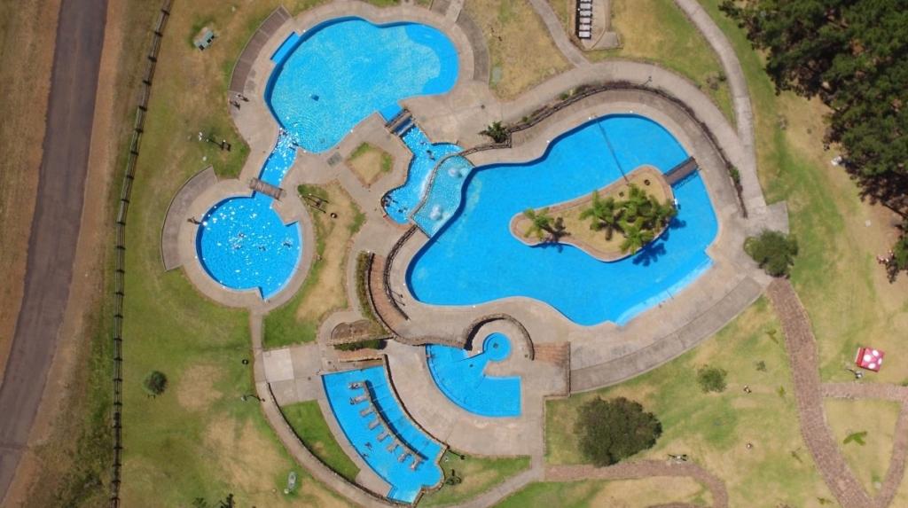 Vista aérea del Parque Acuático