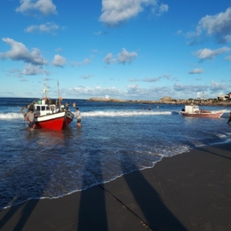 Playa los Pescadores de Punta del Diablo